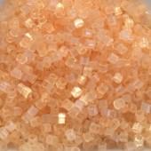 Miyuki delicas pale apricot silk satin