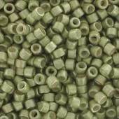 miyuki delicas galvanized semi mat aloe