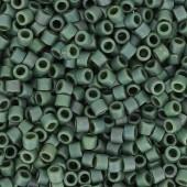 Miyuki delicas mat metallic sage green luster