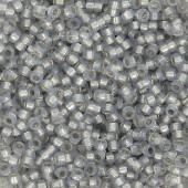 miyuki rocailles 15/0 smoky opal silver lined alabaster