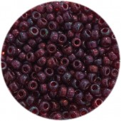 miyuki rocalles 8/0 cranberry gold luster