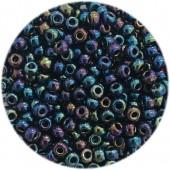 miyuki rocailles 8/0 metal variegated blue iris