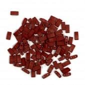 Miyuki tila Metallic Matte Brick Red