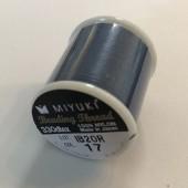 Miyuki nylon sytråd 0,25mm, mørk blå 50m (nr 17)-20
