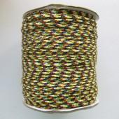 Multifarvet nylon knyttesnor #1-20