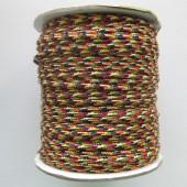 Multifarvet nylon knyttesnor #2-20