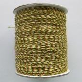 Multifarvet nylon knyttesnor #3-20