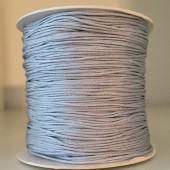 0,8mm nylon knytte snor sølvfarvet