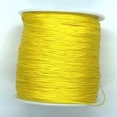 0,5mm gul nylon knyttesnor