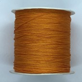 orange nylon knyttesnor 0,5mm