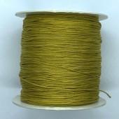 guld nylon knyttesnor 0,5mm