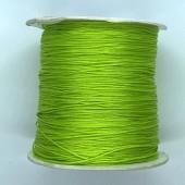 lys grøn grøn nylon knyttesnor 0,5mm