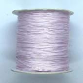 lyserød grøn nylon knyttesnor 0,5mm