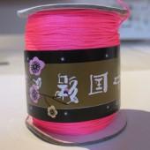 0,8mm nylon knyttesnor, neon pink-20
