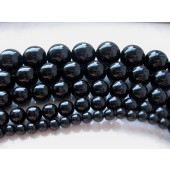 18mm sorte perler