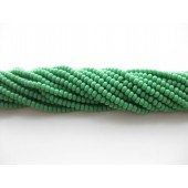 Preciosa seed beads #11 opak grøn, 50cm streng-20