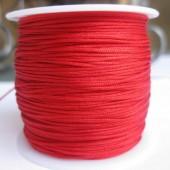 1,0mm nylon knyttesnor, rød-20