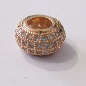 zirkon perle rosegold