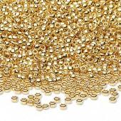 24 karat guld seed beads