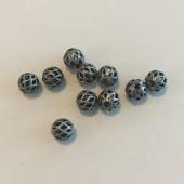 6mm perler med huller