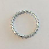 sølv øsken 25mm