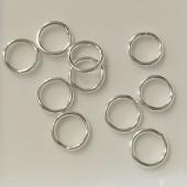 8mm sølv øskner