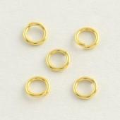 5mm guld øskner 0,8mm