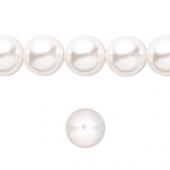 Swarovski® crystal pearl, 10mm rund, white-20