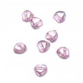 Swarovski Crystal, 9x9mm hjerte, rose, 2 stk-20