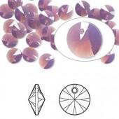 Swarovski Rivoli Pendant Xilion, 8mm Cyclamen Opal, 2 stk-20