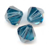 Swarovski® crystal 5mm bicone, montana-20