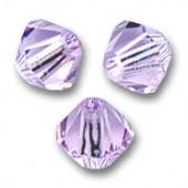 Swarovski crystal 3mm bicone, Violet, 10 stk-20