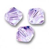 Swarovski crystal 4mm bicone, Alexandrite, 10 stk-20