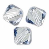 Swarovski crystal 4mm bicone, Crystal Blue Shade, 10 stk-20