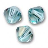 Swarovski crystal 4mm bicone, Indian Sapphire, 10 stk-20