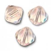 Swarovski crystal 4mm bicone, Silk, 10 stk-20