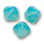 Swarovski® crystal 8mm bicone, Pacific Opal-20
