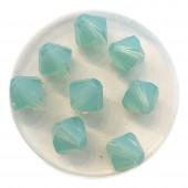 8mm swarovski bicones pacific opal