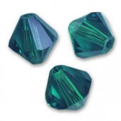 Swarovski bicone 6mm emerald