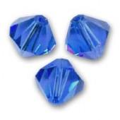Swarovski bicones 3mm sapphire