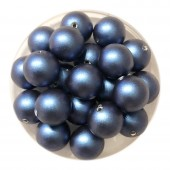 8mm iridescent dark blue swarovski pearls
