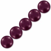 swarovski pearls 10mm blackberry