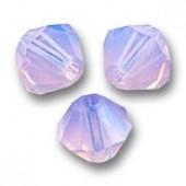 Swarovski bicones 6mm violet opal