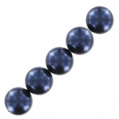 Swarovski pearls night blue