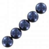Swarovski pearls night blue