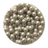 4mm swarovski pearls iridescent dove grey