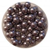6mm Swarovski pearls Mauve