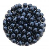 4mm swarovski pearls night blue