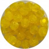 6mm gule opal swarovski perler