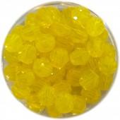 4mm facetsebet gul opal swarovski